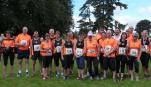 Newent Runners at Highnam Court
