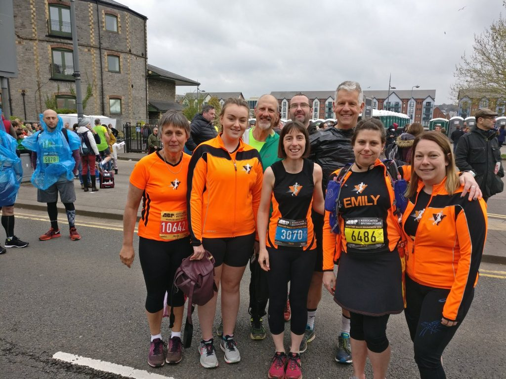 Newent Runners at Newport